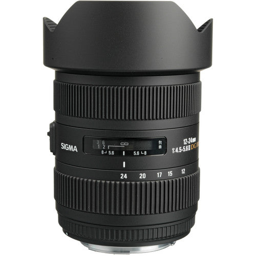 Sigma 12-24mm F4.5-5.6 II HSM for Canon