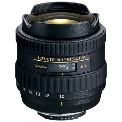 Tokina 10-17mm f3.5-4.5 DX Fisheye for Nikon