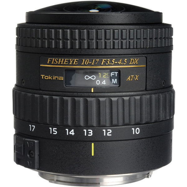 Tokina 10-17mm f/3.5-4.5 Fisheye for Canon