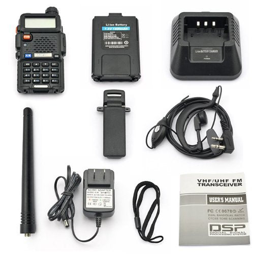 High Power Walkie Talkie - 10 Radio Kit