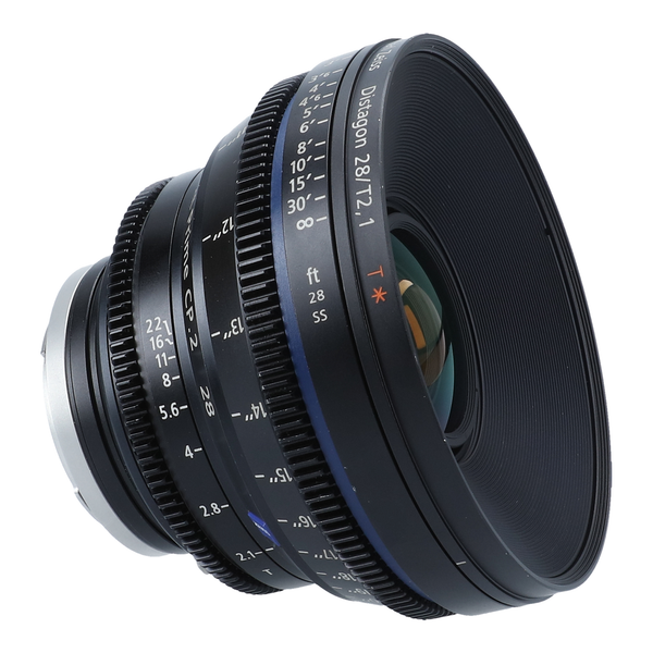 Zeiss Compact Prime CP.2 28mm T/2.1 2.1 T* (Feet) Lens with EF mount