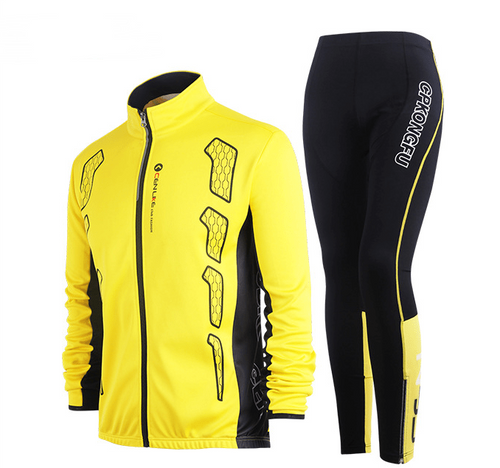 Fietskleding: Set 5 Black and yellow