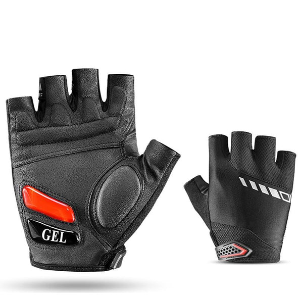 Half-finger cycling fitness gloves