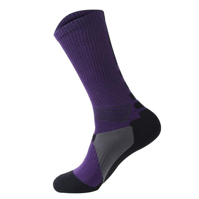 Towel bottom sports socks