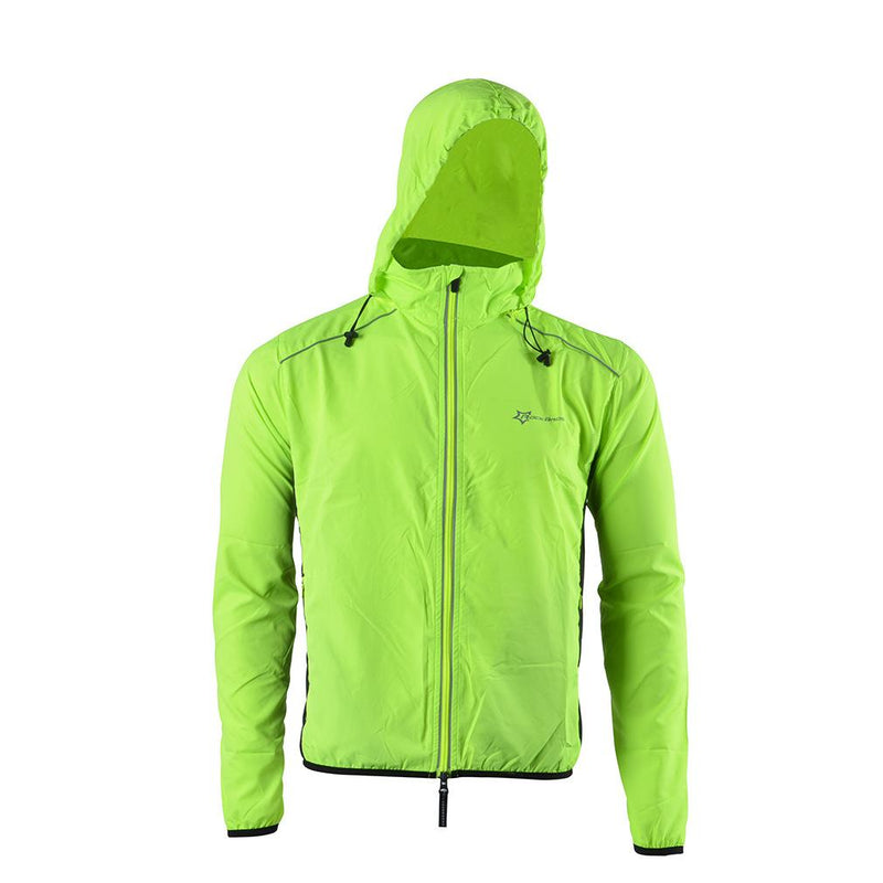 Bicycle hooded raincoat