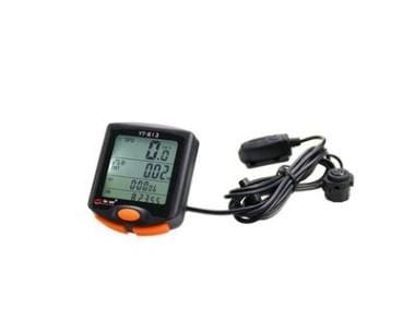Multifunctional Waterproof Code Meter Odometer Speedometer Watch Bogle Touch Screen 813 Wired