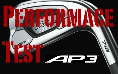 Titleist 718 AP3 Irons - Review and Testing Performance