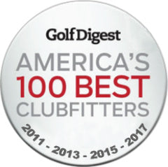 Golf Digest Top 100 Clubfitter in America