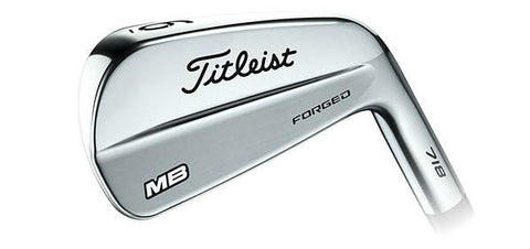 Titleist 718 MB Iron - The Classic Muscle Back