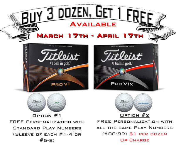 Titleist Ball Promotion