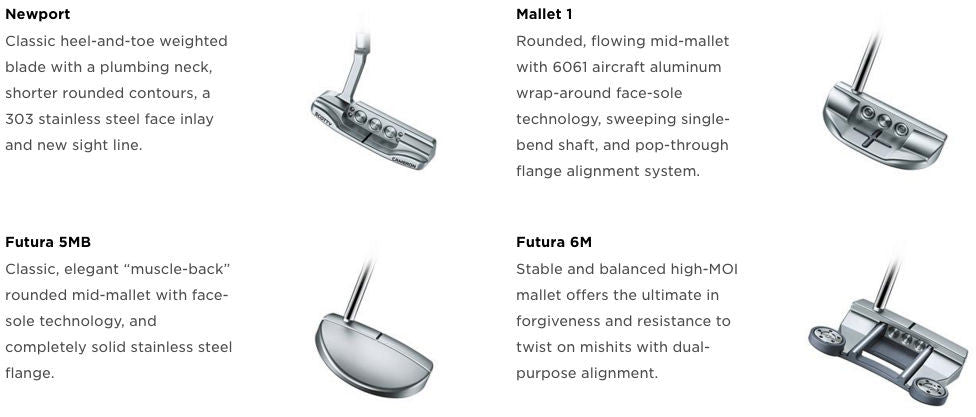 Cameron and Crown - Putter Models