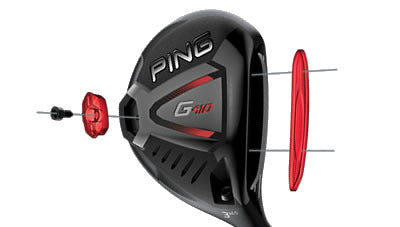 PING G410 LST Fairway Wood - Tungsten Weight and Forged Face