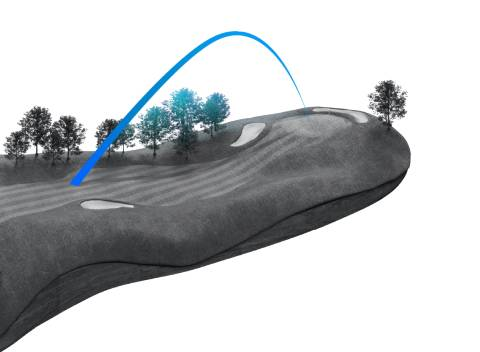 TaylorMade SIM2 MAX OS Iron - Higher Launching