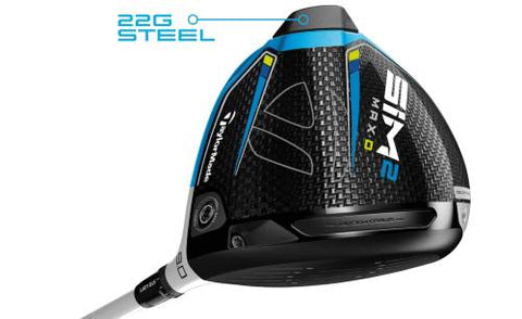TaylorMade SIM MAX-D Driver - Draw without Compromise