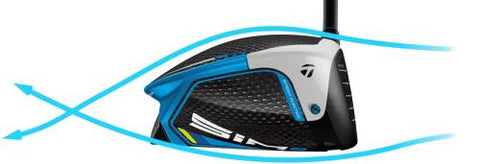 TaylorMade SIM2 Driver - Shaped for Aero