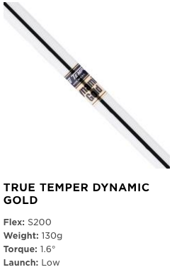 True Temper Dynamic Gold Wedge Shaft