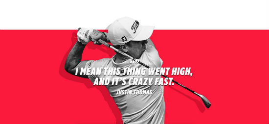 Titleist U510 Iron - Justin Thomas Ad
