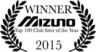WINNER Mizuno 2015 Top 100 Clubfitter of the Year