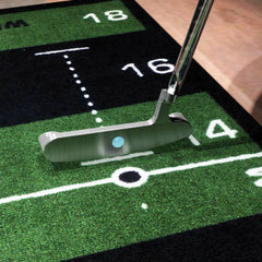 Wellputt Mat - Alignment line for the putter face