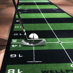 Wellputt Mat - Alignment Line for direction
