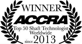 Winner - ACCRA Top 50 Shaft Technologist Worldwide