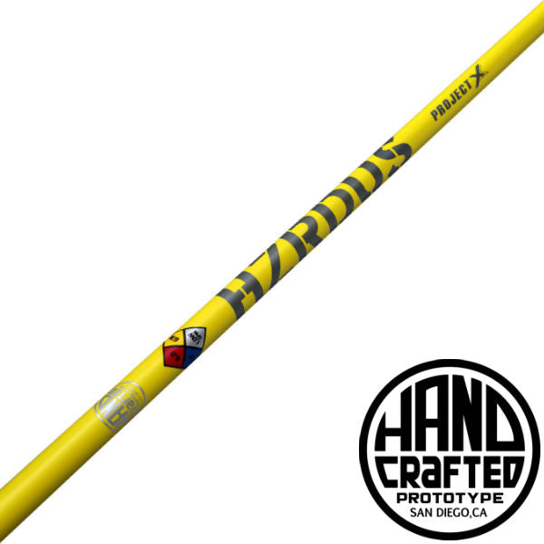 NEW Project X HZRDUS YELLOW Hand Crafted 76 6.5 X-Flex Driver Shaft 46