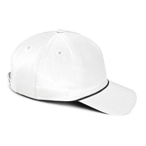 Spargo | White with Black Rope Hat