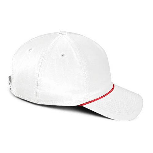 Spargo | White with Red Rope Hat
