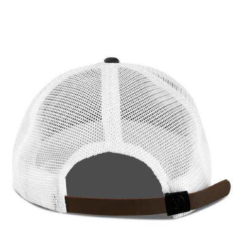 Spargo | Black Trucker White Rope Hat