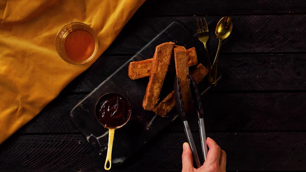 Skip <br> The Brunch Line And <br> Make A French Toast Sticks Instead