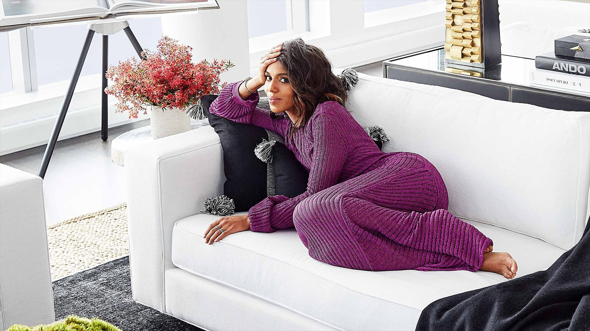 Inside Kerry Washington's NYC Apartment on the Hudson River