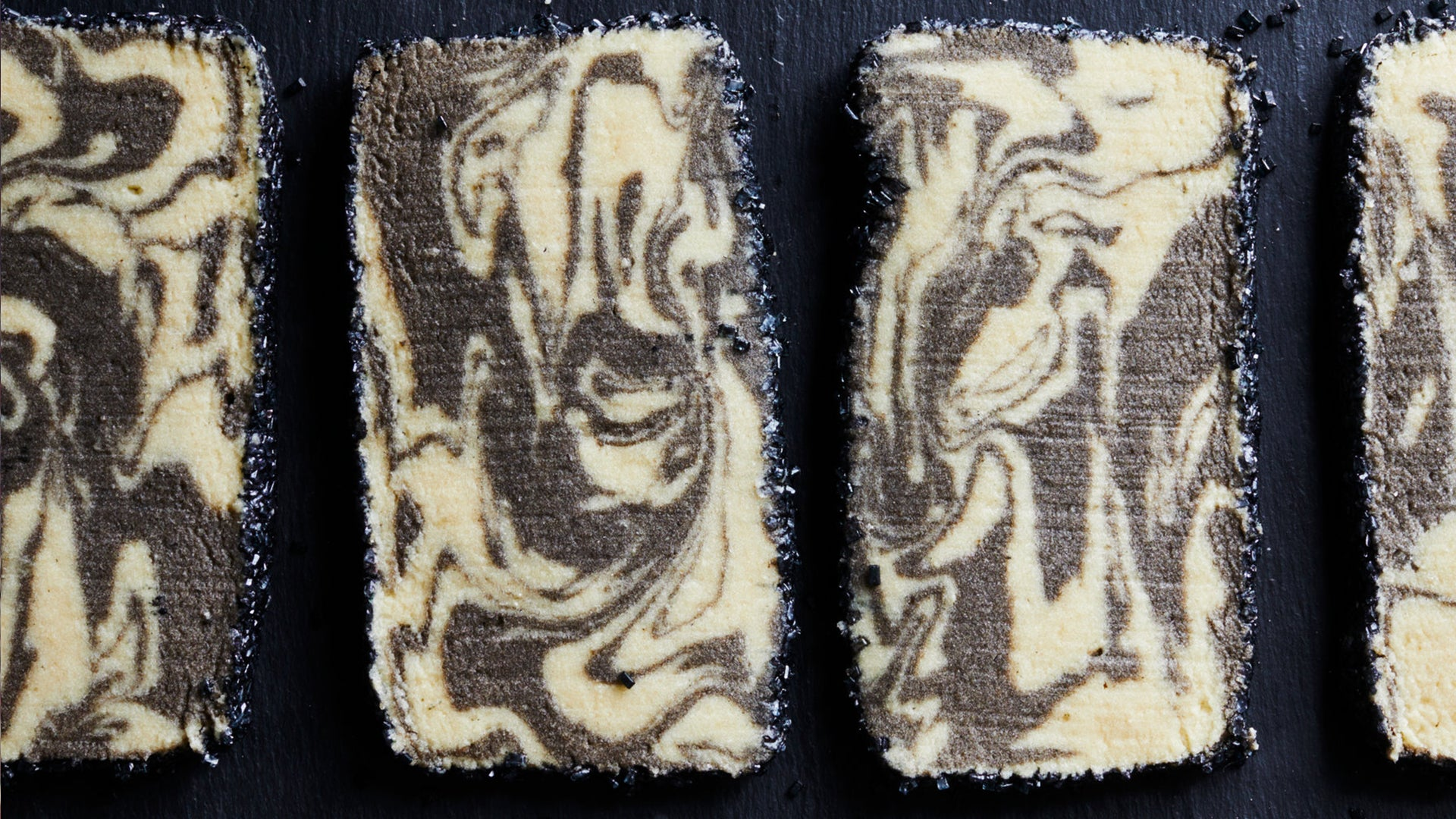 Marbled Tahini <br> Cookies