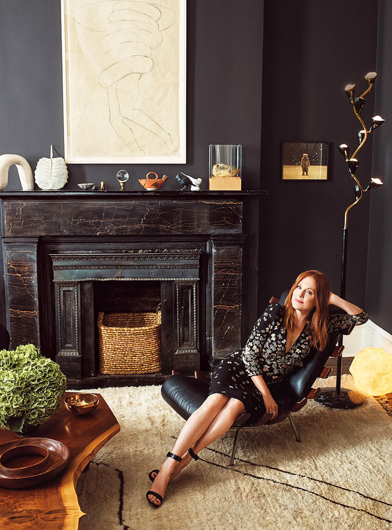 Inside <br>Julianne Moore's <br> New York City <br> Townhouse