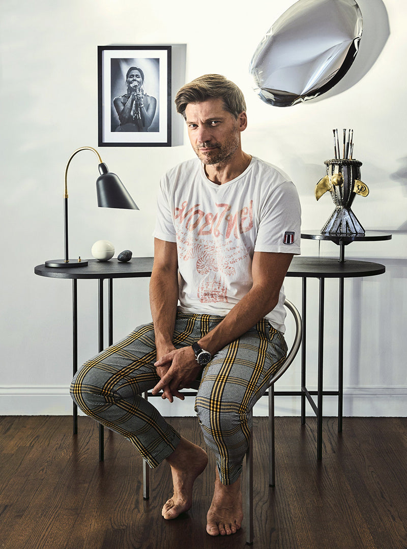 Inside <br> Nikolaj Coster <br> Waldau's Hidden <br>Los Angeles Home