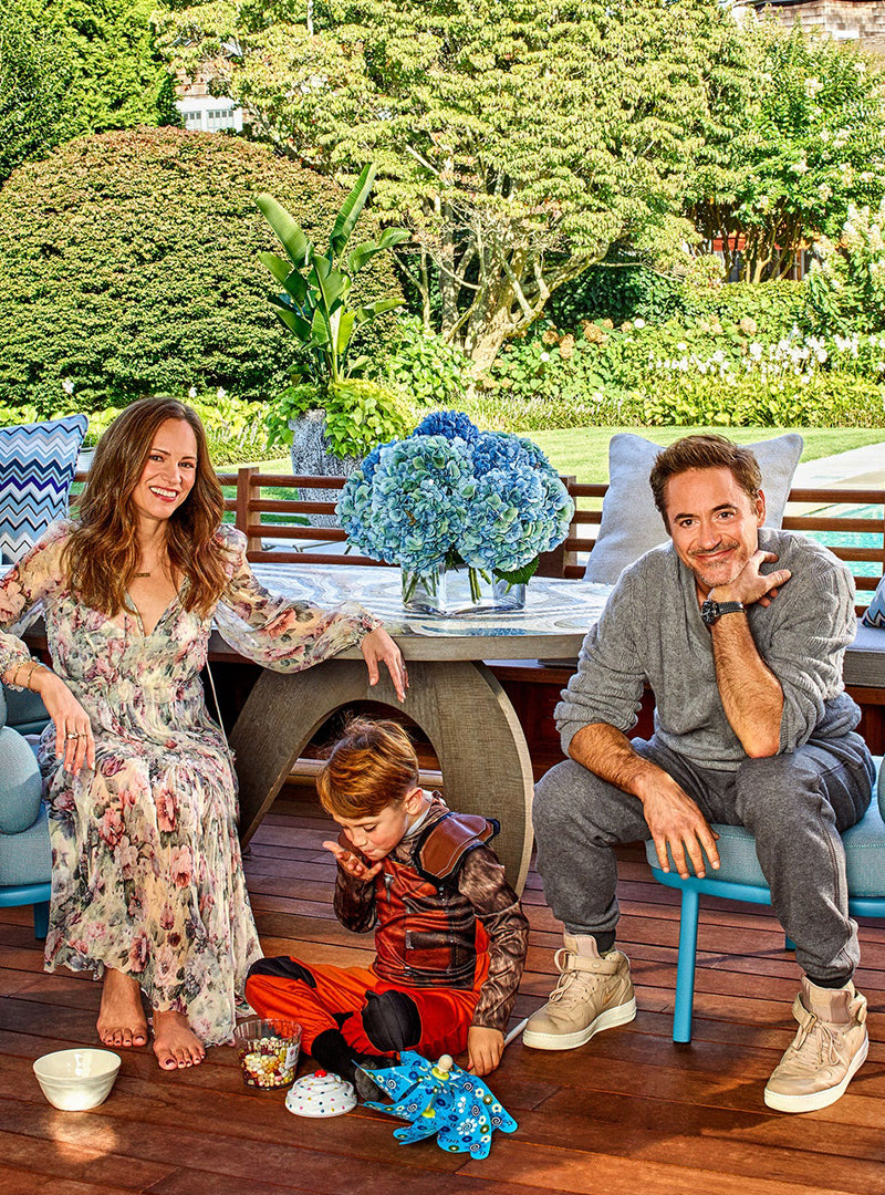 Inside<br> Robert Downey Jr.'s <br>Windmill Home in the Hamptons