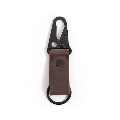 Clip Leather Keychain