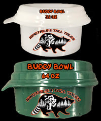 Plastic Spill-Proof Buddy Bowl - Ringtails and Tall Tales Hunting, Dog Supply, and Taxidermy