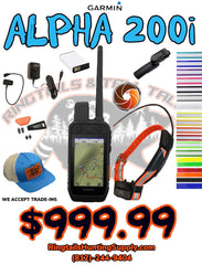 Garmin Alpha 200i TT15 Combo - Ringtails and Tall Tales Hunting, Dog Supply, and Taxidermy