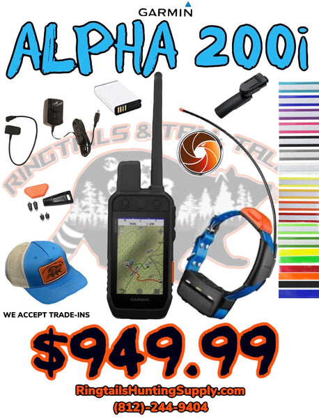ALPHA 200i T5 Combo - Ringtails and Tall Tales Hunting, Dog Supply, and Taxidermy