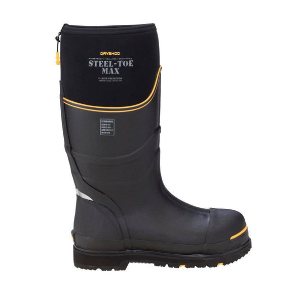 DRYSHOD Steel-Toe Max Cold Conditions Protective Boot - Ringtails and Tall Tales Hunting, Dog Supply, and Taxidermy