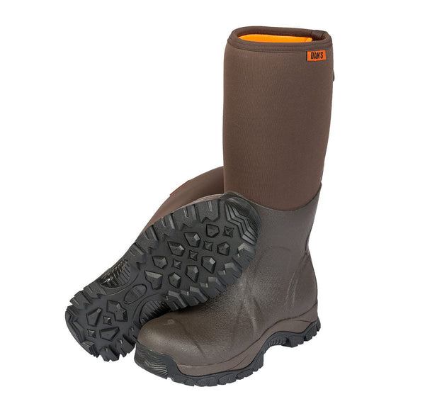 Dan's Frogger Boot with Optional Dan's Chaps - Ringtails and Tall Tales Hunting, Dog Supply, and Taxidermy