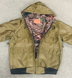 Southside Camo Lined Hooded Hunting Jacket - Ringtails and Tall Tales Hunting, Dog Supply, and Taxidermy