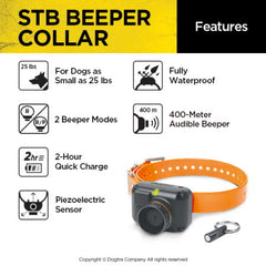 Dogtra STB BEEPER COLLAR - Ringtails and Tall Tales Hunting, Dog Supply, and Taxidermy