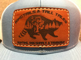 Leather Patch Logo Hat - Ringtails and Tall Tales Hunting, Dog Supply, and Taxidermy
