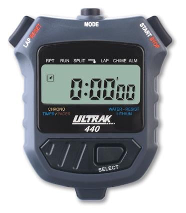 ULTRAK 440 - Countdown Timer & Lap or Cum Stopwatch - Ringtails and Tall Tales Hunting, Dog Supply, and Taxidermy