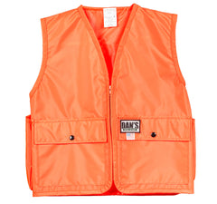 Kid's Blaze Orange Vest - Ringtails and Tall Tales Hunting, Dog Supply, and Taxidermy