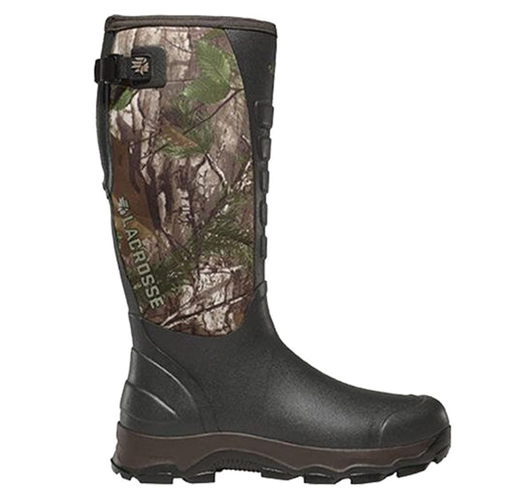 LaCrosse 4X Alpha Boot with Optional Dan's Chaps - Ringtails and Tall Tales Hunting, Dog Supply, and Taxidermy