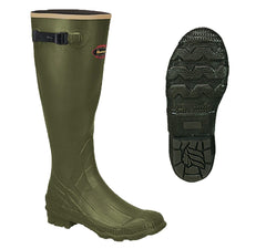 LaCrosse Grange Boot with Optional Dan's Chaps - Ringtails and Tall Tales Hunting, Dog Supply, and Taxidermy