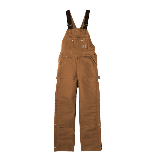 DUCK ZIP-TO-THIGH BIB OVERALL/UNLINED - Ringtails and Tall Tales Hunting, Dog Supply, and Taxidermy