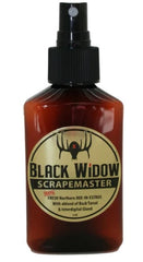 Black Widow Scrape Master 3oz Northern Whitetail Lure - Ringtails and Tall Tales Hunting, Dog Supply, and Taxidermy